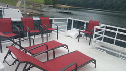 Top deck lounge chairs