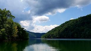 Sutton Lake located in central WV
