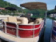 Sutton Lake Marina pontoon boat