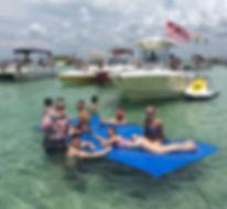 Large Floating Water Mat, Sutton Lake WV