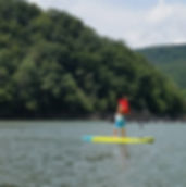 Paddle Boarding at Sutton Lake, WV