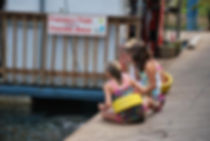 Sutton Lake Marina Fish Feeding Area