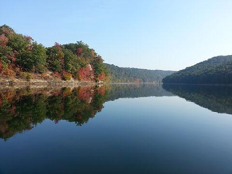 Autumn Colors- Sutton Lake, WV