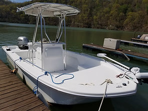 Center Console Fishing Boat Rental