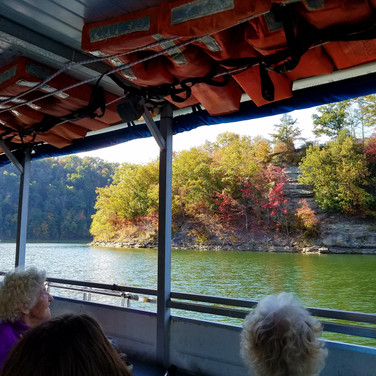 Fall Foliage from the Sutton Queen