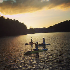 Paddleboard Yoga, Sutton Lake WV