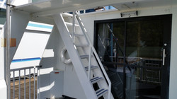 Stairs to Upper Deck