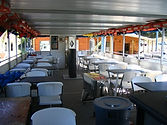 Boat interior - seating for 40
