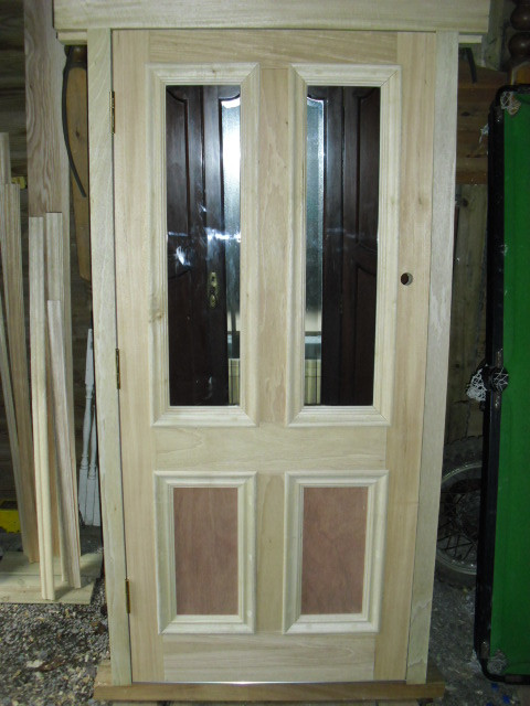Ext door with bolection moulding