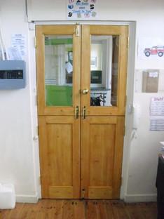 Primary School double hatch doors