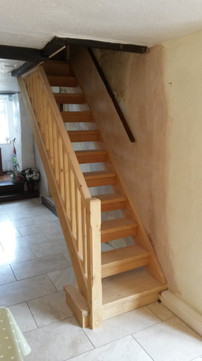 Southern Pine stairs