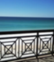 Azure gulf front condo views near Destin. These are gulf front condos for sale.
