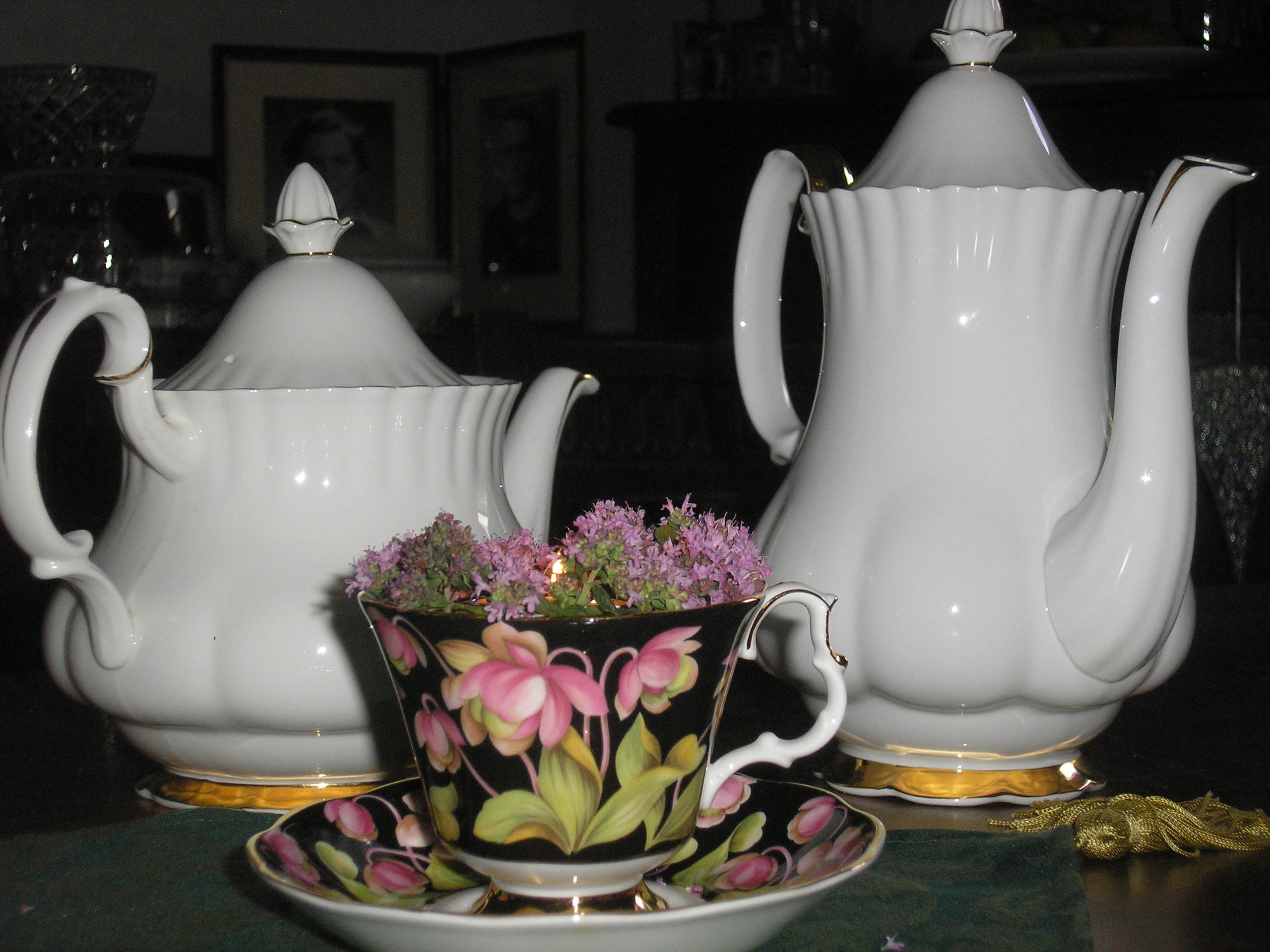 China Tea and Coffee Pot