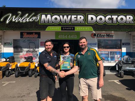 NEW SPONSORSHIP DEAL - Waldo's Mower Doctor