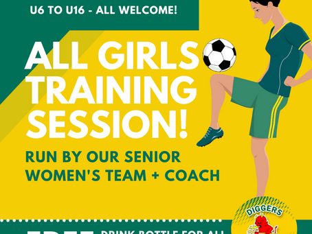 ALL GIRLS TRAINING SESSION