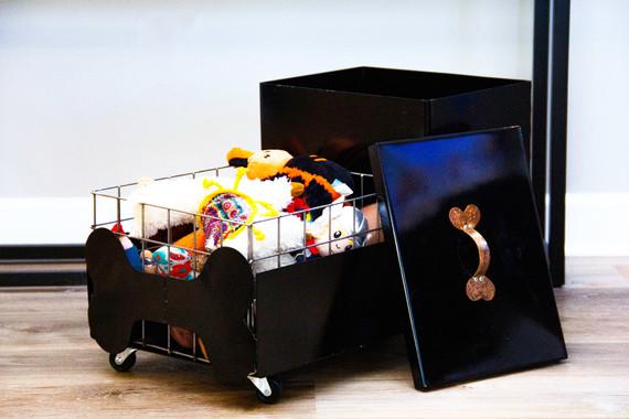 Pet Food + Toy Cart