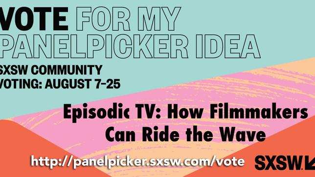 Vote for my panel in the SXSW Panel Picker, please!