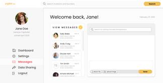 VC Messaging - Start New Message