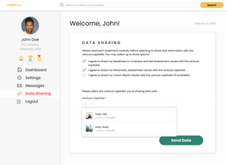 Founder Data Sharing - Search VC