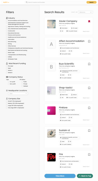 VC Search Portal