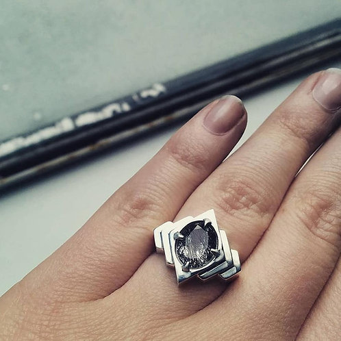 ECHO COCKTAIL RING