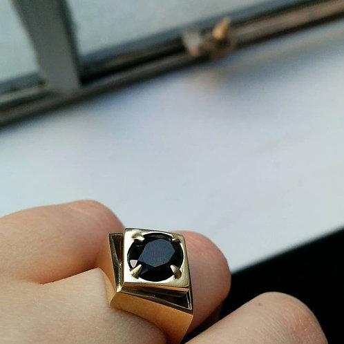 DIAMOND VOID COCKTAIL RING