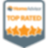Home Advisor Top Rated Badge for Exterior Inspection Specialists