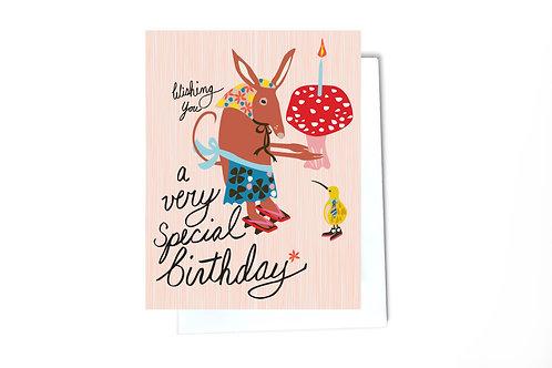 Special Friends Birthday Card