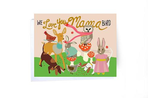 Bird Mother's Day Card