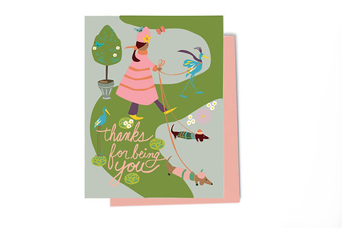 You Thank You Card