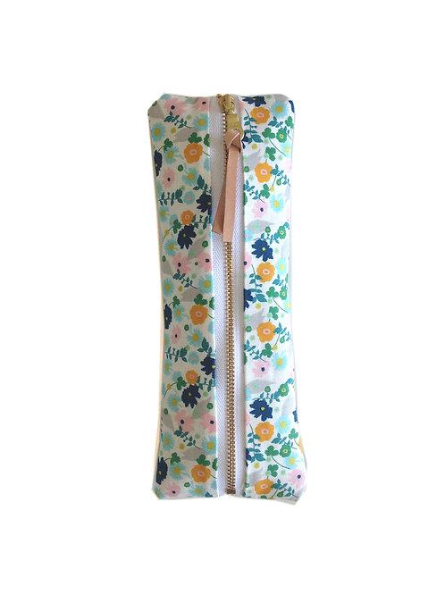 Natural Confetti Flower Pencil Case