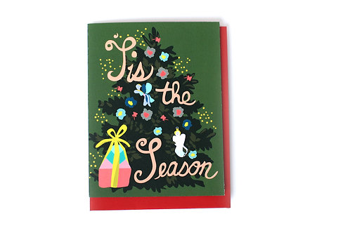 'Tis The Season Note Card