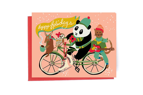 Tour Holiday Card