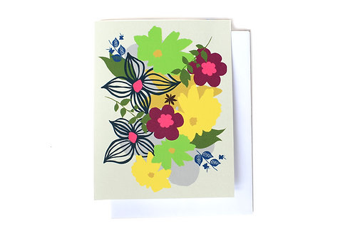 Spring Note Card