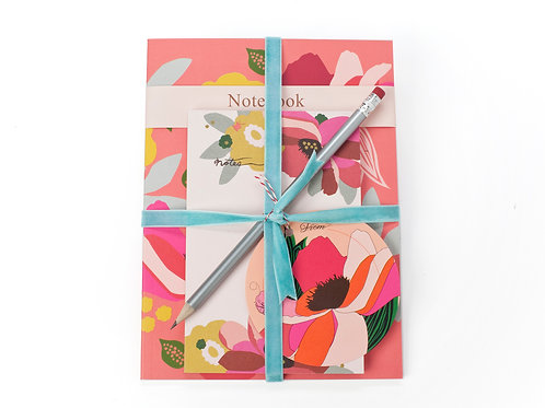 GARDEN NOTEBOOK & PAD SET