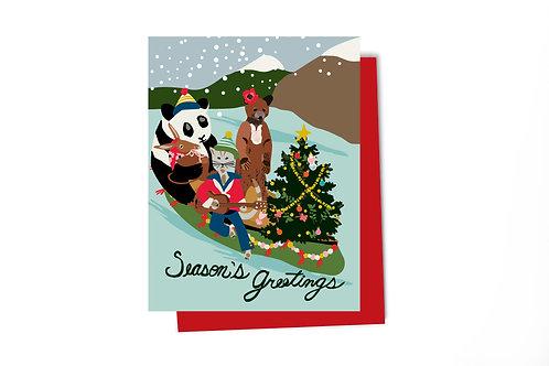 Serenade Holiday Note Card