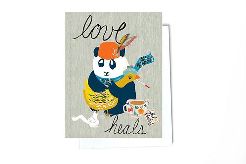 Love Heals Card