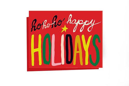 HoHoHo Happy Holidays