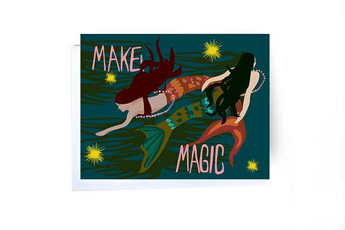 Make Magic Note Card