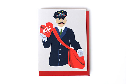 Be Mine Note Card