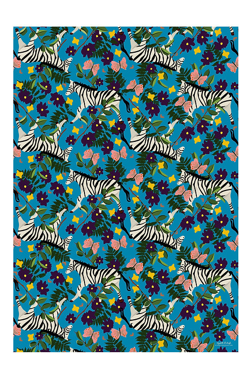 Plains Zebra Wrapping Papers