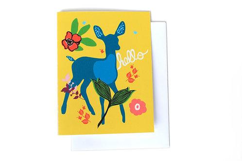 Doe Note Card