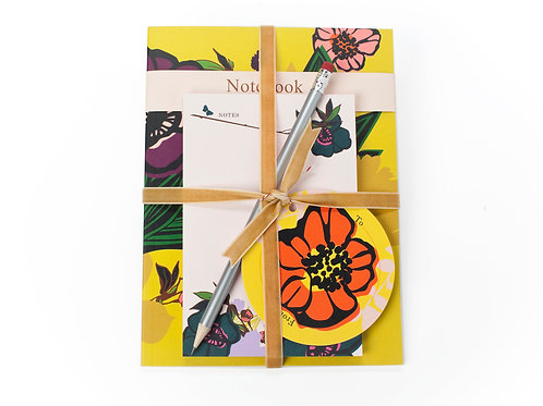 BLOOM NOTEBOOK & PAD SET