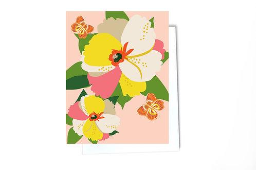 Petal Flower Card