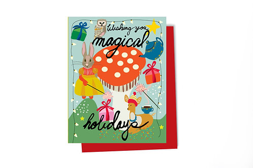 Magical Holiday Note Card