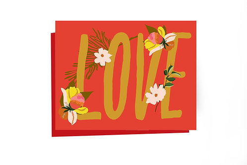 Big Love Note Card