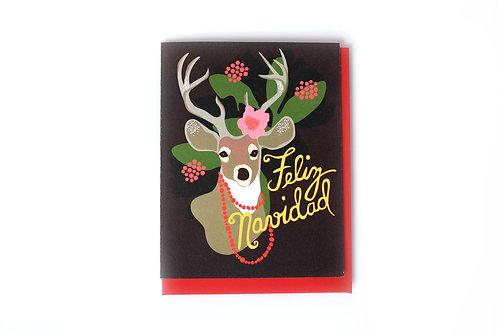 Feliz Navidad Note Card