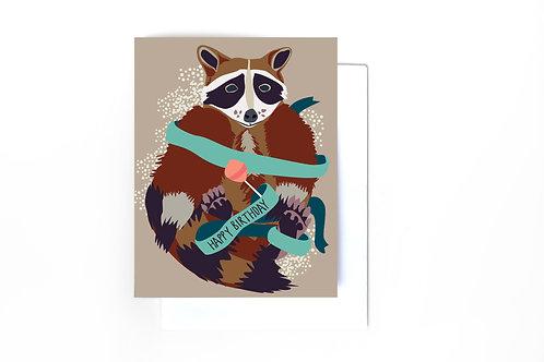 Rascal Birthday Card
