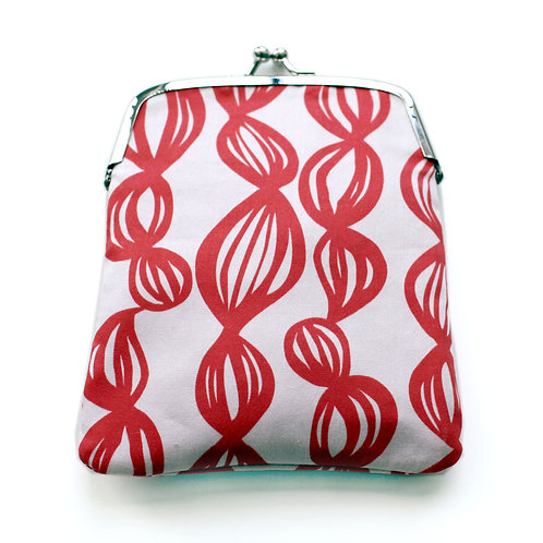 Coral Tails Coin Purse