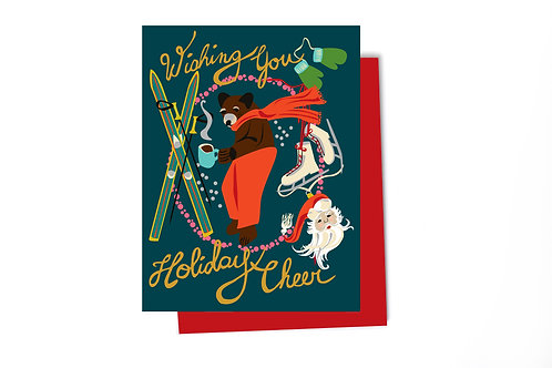 Cheer Holiday Note Card